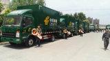 HOWO 상표 중국 우편 트럭, 수송을%s 경트럭