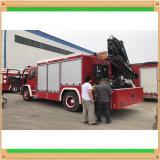 Isuzu 5000litros del depósito de 500 litros de agua del tanque de espuma Bomberos