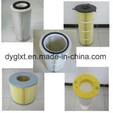 Der Drehplastikdeckel-Staub, der Polyester-Film entfernt, deckte Luftfilter-Kassette ab