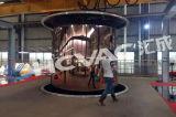 Cremagliera di visualizzazione dell'acciaio inossidabile, vetrina, sistema di titanio di deposito della macchina di rivestimento del plasma della mobilia PVD