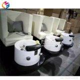 照明鉱泉のPedicureの椅子ボールが付いているHlyの大広間のフィートの洗面器