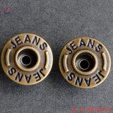Acessórios Jeans Jeans Metal botão com o logotipo personalizado em relevo