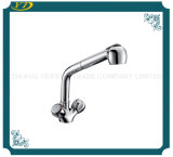 Long robinet de vente chaud de bec de bassin en laiton de cuisine