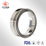 Accessorio per tubi idraulico sanitario dell'accoppiamento di tubo flessibile dell'acciaio inossidabile /Tri-Clamp ISO228