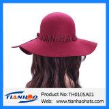 Form-Wolle-geglaubter Hut für Frauen und Mann