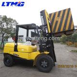 Chariot gerbeur d'appareils de manutention de matériau 5 tonnes chariot élévateur de diesel de 7 tonnes