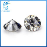 Antique color gris de corte de la vieja Europa 2 quilates de diamantes sueltos Moissanite