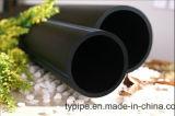 Tubo de polietileno negro