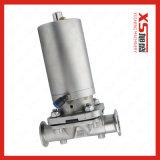 Мембранный клапан Triclover пневматическим управлением нержавеющей стали SS316L