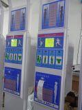 La presión arterial de IMC de peso y altura máquina expendedora de escala de moneda