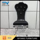 Un mobilier moderne en acier inoxydable chaise de salle à manger