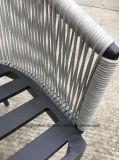 De riem Geweven Stoel van de Vrije tijd van het Frame van het Aluminium Openlucht