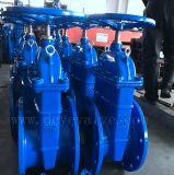 GOST Rússia DIN Pn16 Rcast Ferro Dúctil de Borracha do Assento da Válvula de Gaveta para água potável