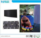 Volledige Zachte Binnen LEIDENE Bendable van de Kleur Video Programmeerbare Flexibele LEIDENE van de Module P4mm Vertoning