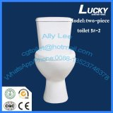 5#-2/Washdwon separadas de dos piezas de cerámica de cuarto de baño Wc en Sanitarios