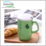 tasse de café promotionnelle de cadeau de 7.5*13cm avec la cuillère de 6cm