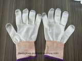 De antistatische Handschoenen van de Veiligheid van Pu Hoogste Geschikte ESD voor Elektronische Workshop