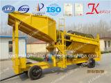 El lavado de oro Trommel nueva planta en China