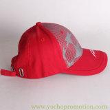 Сетка хлопка изготовления Китая на бейсбольной кепке передней панели
