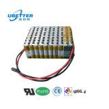 36V 24Ah de ciclo profundo Batería de iones de litio 18650