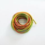 Cruce de caucho del tubo de estiramiento de los tubos de Látex de color