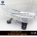 47-дюймовый светодиодный индикатор бар с применением объектив и прозрачный купол