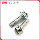La tuerca de metal de hardware de montaje del tubo de acero inoxidable cobre