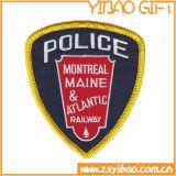 Оптовая торговля из ткани с вышитым полиции патч для единообразного (YB-e-015)