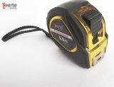 3m 5mのゴム塗られたナイロン上塗を施してあるテープが付いている10mケースの測定テープ
