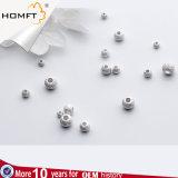 S925 Silver аксессуары оптовые 3-6мм нанесите скраб скраб DIY пространства валик клея пульта управления