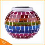 En el interior la decoración del hogar Energía Solar de vidrio colorido mosaico de luz LED