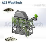 Pp.-PET Plastikaufbereitenreinigungs-Zeile/überschüssige Film-Waschmaschine