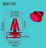 TF garantia de abastecimento de fábrica na China Qualidade clipes de auto peças de fixação automática, clipes de Corpo, clipes de Plástico Preto/Branco