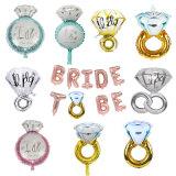 Малые алмазные кольцо круглая насадка для взбивания из алюминиевой фольги.