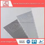 Revêtement en poudre haute résistance des panneaux en aluminium anticorrosion Honeycomb pour boîtier de la machine/ Surface d'usinage