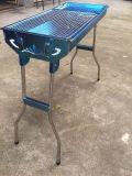 Outdoor grill au charbon avec grille en acier inoxydable