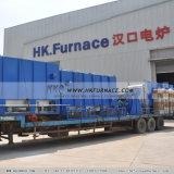 Temperatura alta da fornalha inferior do carro da China de fornos industriais da Marca Superior