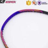 Un Module 7- fabricant le plus élevé 55t tissé de fibres de graphite raquettes de badminton personnalisée OEM