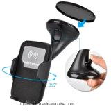 Qi magnéticos soporte del teléfono inalámbrico rápido cargador inalámbrico de coche