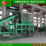 Двойной вал для шинковки переработка использованных шин/дерева/пластика и металла