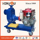 Motore diesel con il Governo di silenzio sulla pompa ad acqua autoadescante guidata rimorchio