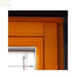 알루미늄 목제 클래딩 이중 유리를 끼우는 여닫이 창 Windows