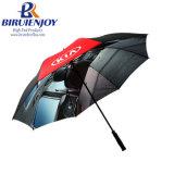 Anti ombrello di pubblicità UV di golf con il doppio baldacchino scaricato con stampa completa da Digitahi