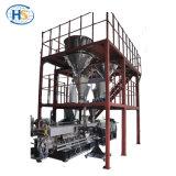 두 배 나사 디자인 플라스틱 밀어남에 있는 기계 압출기를 만드는 플라스틱 나일론 PA 과립