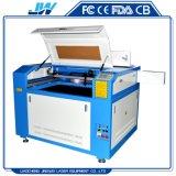 6090 un'incisione dei 9060 laser e tagliatrice per il panno di cuoio di legno acrilico