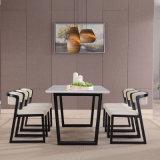 Juegos de comedor moderna Silla de madera y mobiliario de restaurante de mesa para el hogar