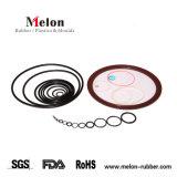La coutume en caoutchouc EPDM de silicone résistant aux hautes températures en Viton joint torique