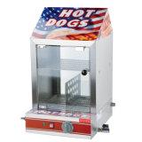 Armário de aquecimento cachorro quente elétrica Papinhas Showcase Exibir