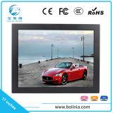 17'' CCTV Moniteur LCD avec boîtier métallique robuste pour la sécurité