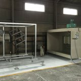 China-Hersteller-manueller Puder-Spray-Lack-Stand für Zaun
